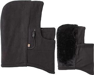 Eforstore 6 in 1 Thermal Fleece Balaclava Hat Hood Police SWAT Ski Bike Wind Stopper Mask