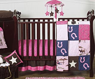 cowgirl baby crib set