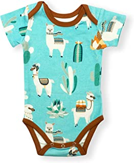 Earthy Organic Baby Short Sleeve Bodysuit Boy Girl (8 Sizes: Preemie-24M) 100% Organic Cotton