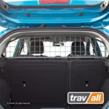 Travall Guard Compatible with Ford Fiesta Hatchback and ST (2008-2017) TDG1215 - Rattle-Free Steel Pet Barrier