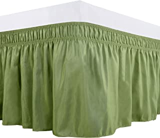 Best elastic bed skirt king Reviews
