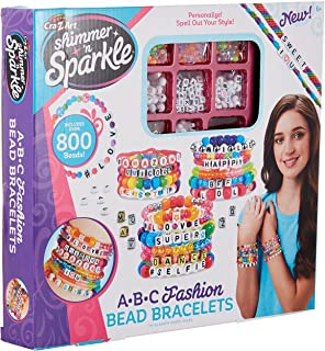 Shimmer 'N Sparkle DIY ABC Fashion Beads by Cra-Z-Art