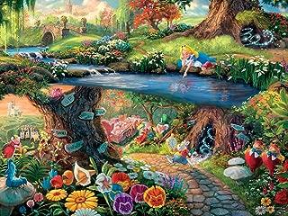 Ceaco Perfect Piece Count Puzzle - Thomas Kinkade Disney Dreams Collection - Alice in Wonderland