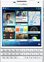 Blackberry Passport SQW100-1 Unlocked GSM Phone w/ 3-Row Keyboard - White