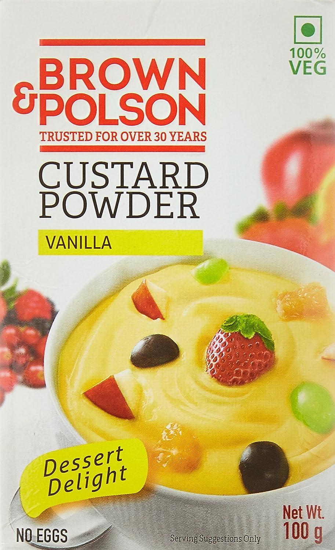 Brown  Polson, Custard Powder (Vanilla), 100 Grams(gm)