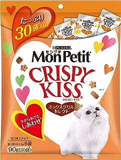 モンプチ クリスピーキッス ミックスグリルセレクト 猫用 90g(3g×30袋入)