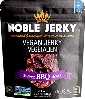 NOBLE JERKY Vegan Jerky Sweet BBQ, 1 x 70 g
