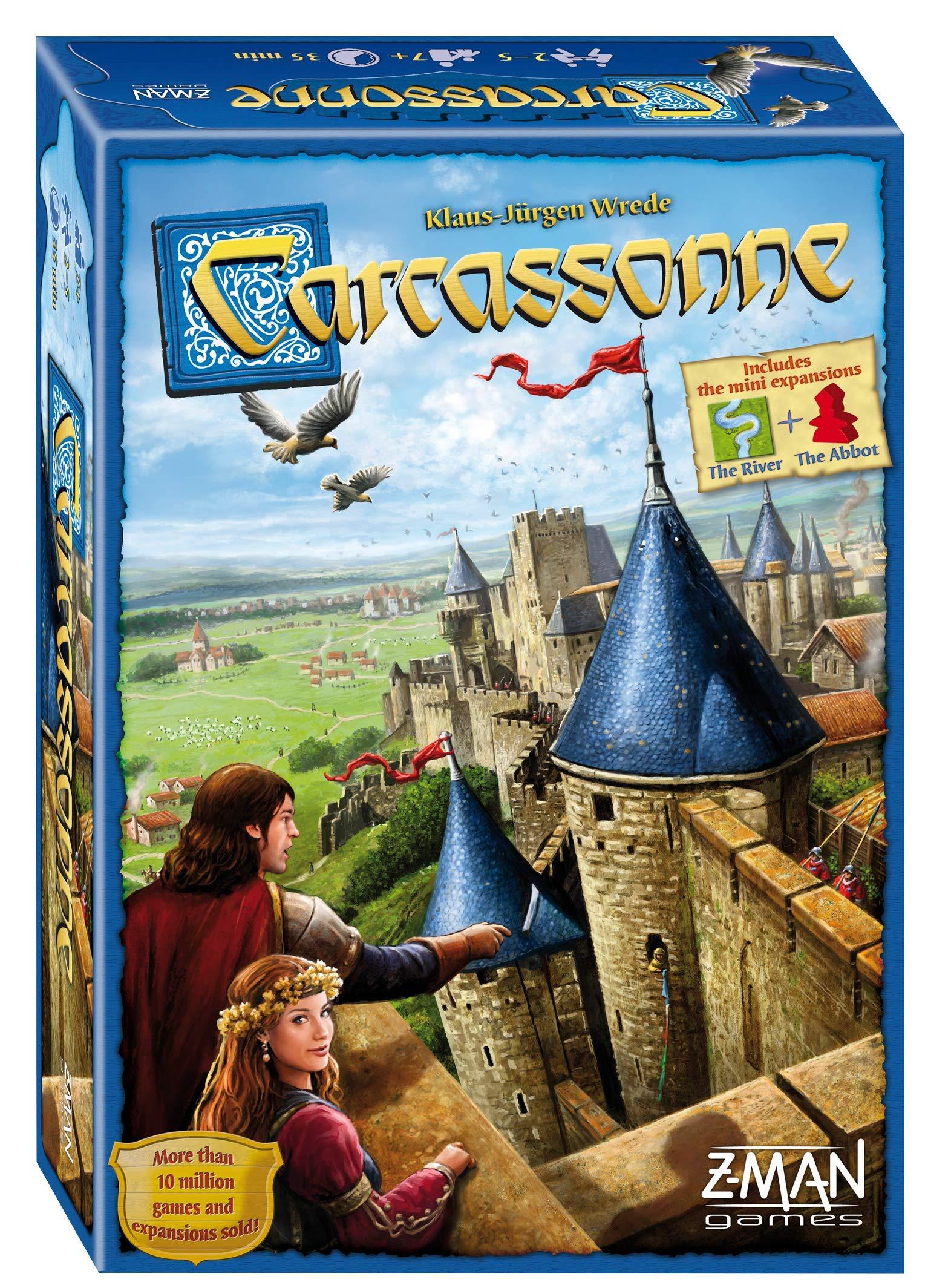 Z-Man Games Juego de Mesa Carcassonne (Idioma español no garantizado): Amazon.es: Juguetes y juegos