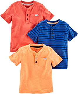 Simple Joys by Carter's Toddler Boys' 3-Pack Short-Sleeve...