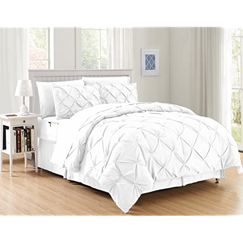 White Twin Bed Set: Amazon.com