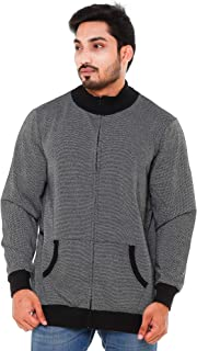 EASY 2 WEAR Men's Cotton Jacket Without Hood (Size S to 5XL) (Light Weight)