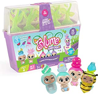 Blume Baby Pop POP 'N' SNIFF – 25 New Surprises Including Scented & Glitterized Babies