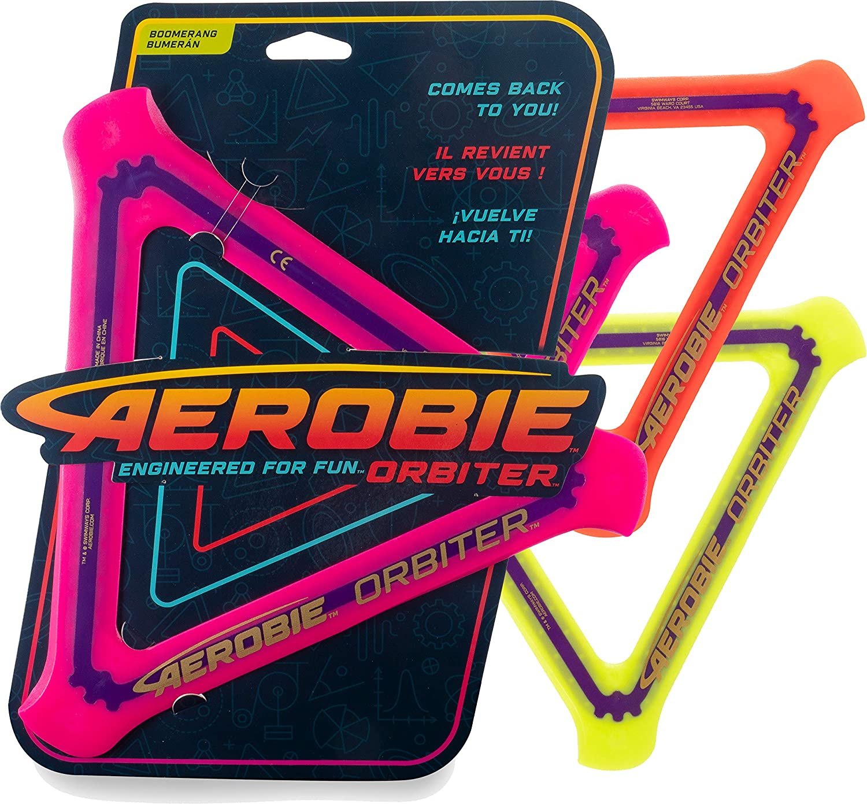 Aerobie San Antonio Mall 6046395 Orbiter Boomerang Various Assorted Colours Sale Special Price