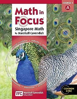 Math in Focus: Singapore Math: Homeschool Package, 1st Semester Grade 6 2012