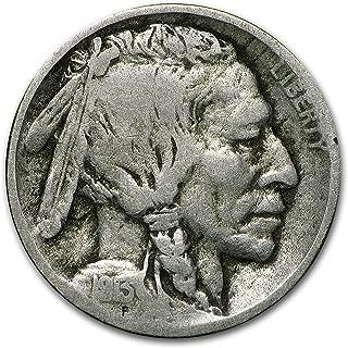 1913 D Type-II Buffalo Nickel Good Nickel Good