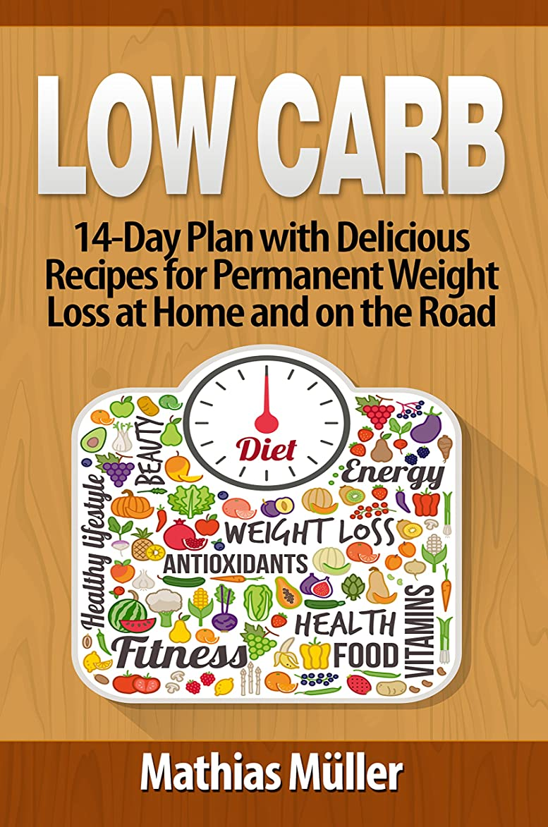 Low Carb Recipes: 14-Day Plan with Delicious Recipes for Permanent Weight Loss at Home and on the Road (English Edition)