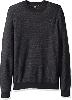 BOSS Orange Men's Adonest Cotton Mohair Mix Sweater