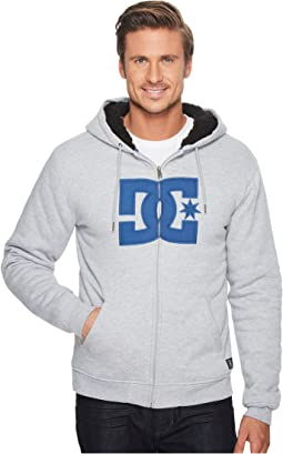 DC - Star Sherpa 3 Zip Fleece Top