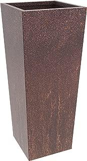 MK Designs Corten Steel Tapered Planter, 14