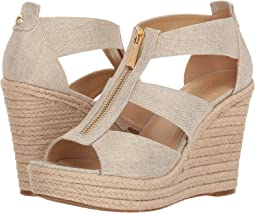 d5f746f2ab3a00 Pale Gold Metallic Linen. 291. MICHAEL Michael Kors. Damita Wedge.  99.00.  5Rated 5 stars5Rated ...