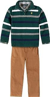 Boys' Toddler 3-Piece Sweater, Dress Shirt, and Pants Set