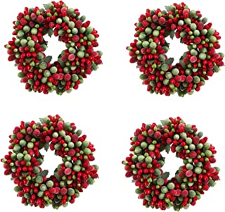 Christmas Red & Green Frosted Berry 5.75