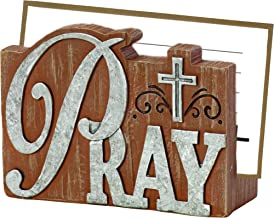 Precious Moments Pray It Forward Collection Prayer Card Holder with 20 Prayer Cards, 8153005
