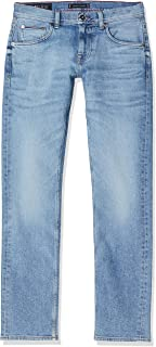 Tommy Hilfiger Straight Denton Pstr Clute Blue Jeans Relaxed Uomo