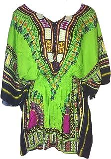 قميص نسائي من بي جيه بطراز عصر النهضة التايلاندية الهبي لعطلة الشاطئ عصري متعدد الألوان