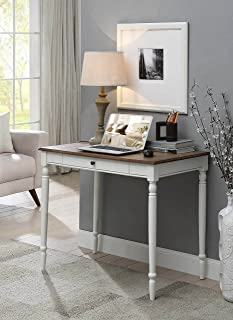 Convenience Concepts French Country Desk, Driftwood/White