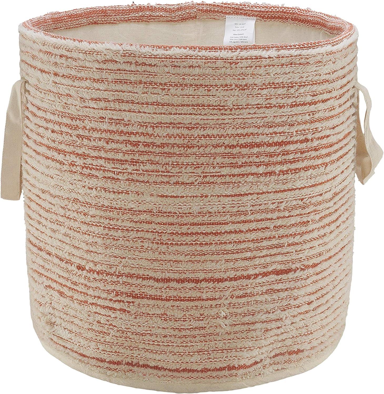 Tucson Mall Textured and Washington Mall Distressed Storage Basket