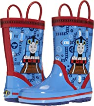 Thomas and Friends Kids Rain Boots with Rubber Sole; Boys Galoshes for Kids
