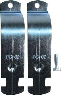 南電機 パイプハンガーサドル PG-82 電気亜鉛メッキ仕上げ (10個/箱)
