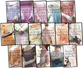 Stephanie Laurens Bar Cynster 17 Books Collection Pack Set RRP: £143.83