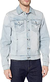 Men's Denim Long Sleeve Trucker Jacket