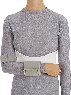 United Ortho 3351-04 Men's Elastic Shoulder Immobilizer,  X-Large,  White