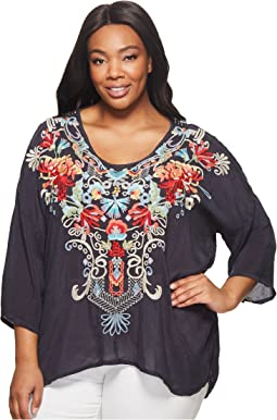 Johnny Was Plus Size Valerie Blouse