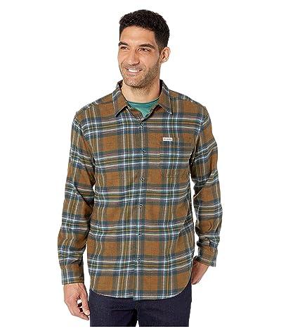 Columbia Boulder Ridge Long Sleeve Flannel (Burnished Amber Tartan) Men