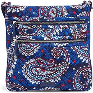 Vera Bradley Iconic Triple Zip Hipster in Fireworks Paisley, Signature Cotton