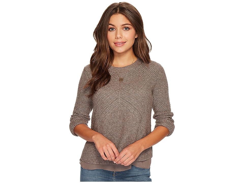 Lucky Brand Nico Sweater (Mink) Women