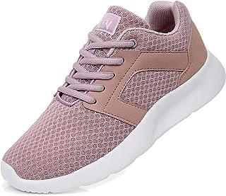 Uricoo Unisex Uomo Donna Scarpe da Ginnastica Corsa Sportive Fitness Running Sneakers Basse Interior Casual all'Aperto 36-47