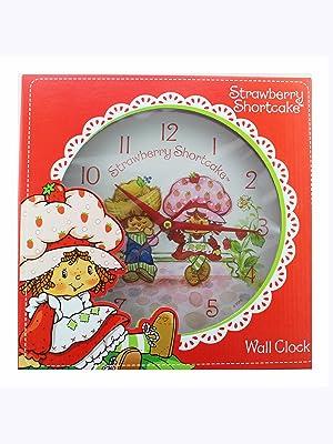 Strawberry Shortcake Wall Clock - Childrens Wall Clocks