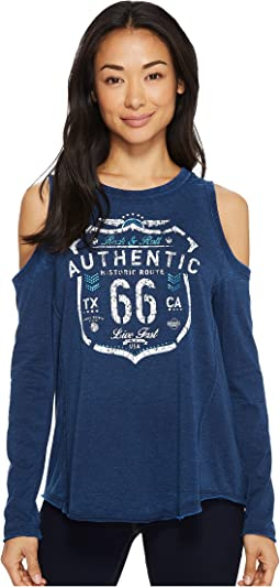 Rock and Roll Cowgirl - Long Sleeve Cold Shoulder 48T4380