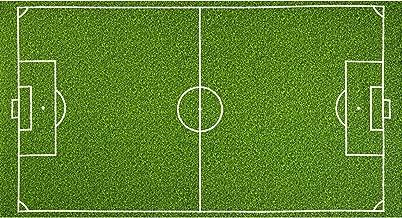 Robert Kaufman Sports Life Soccer Field Grass 24in Panel Green Fabric,