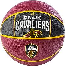 "Spalding NBA Cleveland Cavaliers NBA Courtside Team Outdoor Rubber Basketballteam Logo, Maroon, 29.5"""