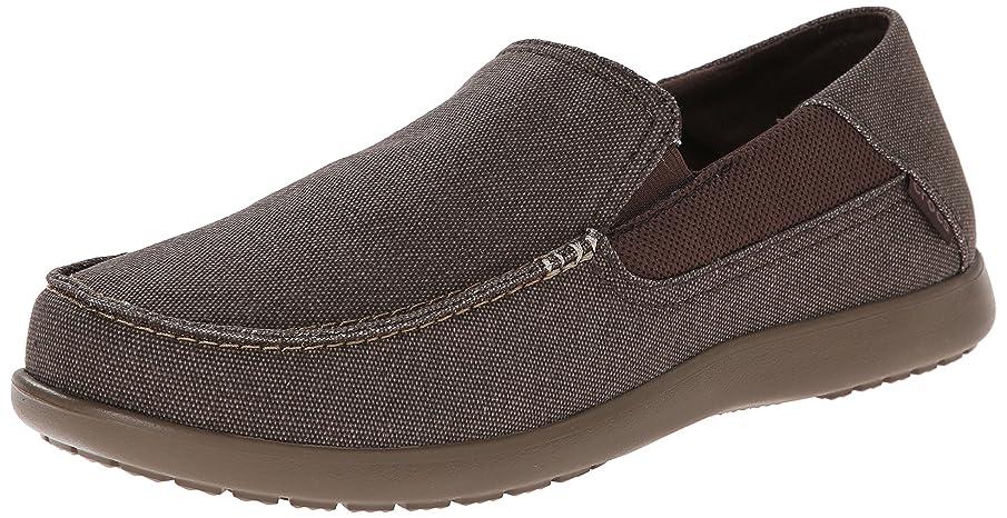 Crocs Men's Santa Cruz 2 Luxe Loafer | Casual Comfort Slip On With Memory Foam Footbed | Lightweight Dress or Walking Shoe