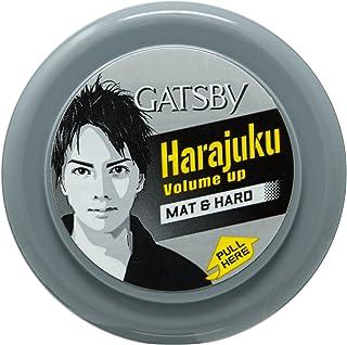 Gatsby Styling Wax Mat And Hard, 75g