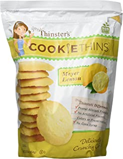Mrs. Thinster's Meyer Lemon Cookie Thin (16 Oz.), 16 Oz