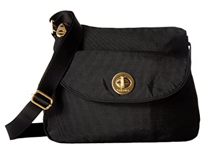 Baggallini International Gold Provence Crossbody (Black) Cross Body Handbags