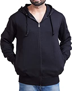 ADBUCKS Winter Wear Hood with Zipper Cotton Jacket (Plus Size Also Available)
